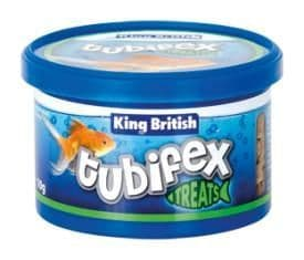 King British Tubifex Treats 35g